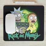 Alfombrilla Gamer Rick And Morty