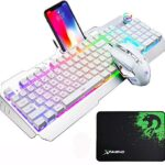 Teclado Gaming White Led